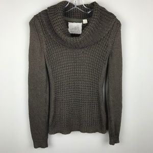 Angel of The North Cowl Neck Pullover Wool Sweater
